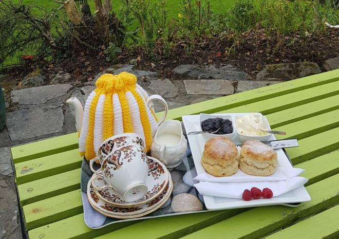 Your holiday starts here - a Cornish cream tea, cream or jam first?