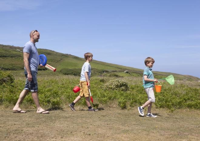 Holywell Bay Beach, Holywell Bay Holiday Park