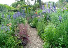 Gardens in Cornwall, Poppy Cottage Garden, The Roseland