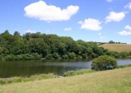 Porth Lake, Newquay, Cornwall