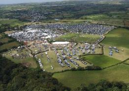 Stithians Show, Cornwall ariel view, What's on