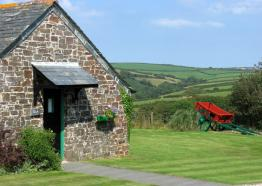 Treworgie Barton, Self Catering, Crackington Haven, North Cornwall