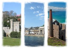 Cornwall triptych by Mark Camp