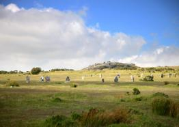 The Hurlers Stone Circle, Bodmin Moor , Cornwall c The Wild Guide