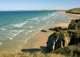 Perranporth beach, Visit Cornwall,