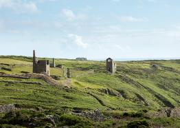 Wheal Leisure and Wheal Grace, Poldark, Cornwall