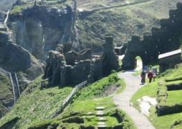 Tintagel Castle, North Cornwall