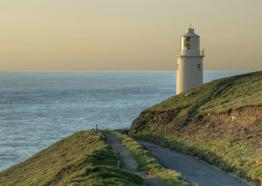 Trevose Head Lighthouse, north Cornwall