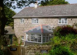 Coombe Farmhouse, Bed and Breakfast, St Ives, West Cornwall