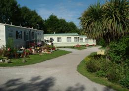 Trethiggey Touring Park, Newquay, Cornwall