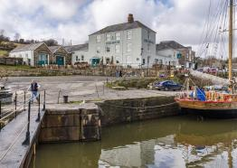 The Pier House, Accommodation and Inn, Cornwall