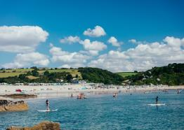 Pentewan Sands Holiday Park, Camping, Caravans, Self Catering, South Cornwall
