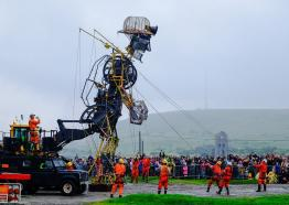 The Man Engine: Resurrection Tour, Cornwall, event, heritage