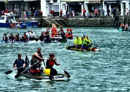 Looe Raft Race_ What's On 2019, Cornwall