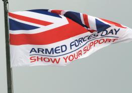 Cornwall Armed Forces Day, 2018, Flambards, Cornwall