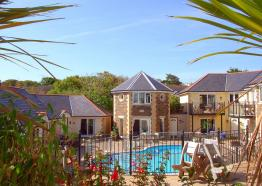 Self Catering in Cornwall , Porth Veor Villas and Apartments , Newquay , Cornwall