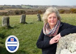Viv Robinson Blue Badge Guide, Cornwall