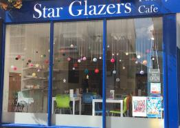 Star Glazers, Pottery Cafe, Family Fun, Cornwall