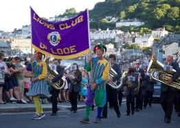 Looe Carnival, Looe Lions, Cornwall what's On 2019