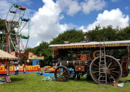 Boconnoc Steam Fair, Lostwithiel, Cornwall