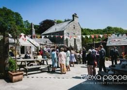 Knightor's Royal Wedding Garden Party, St Austell, Cornwall