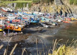 Cadgwith Beach, Lizard Peninsula, West Cornwall