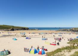 Treyarnon Beach, Padstow, North Cornwall