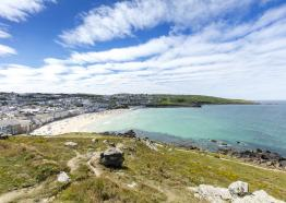Porthmeor Beach, St Ives, West Cornwall