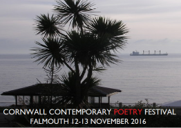 Contemporary Poetry Festival, Falmouth, Cornwall, What's on