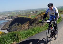 Land's End cycling sportive, Marazion, West Cornwall