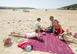Crantock Beach Holiday Park, Crantock, near Newquay, Cornwall