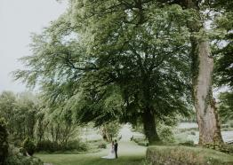 Exclusive hire wedding venue, countryside ceremony Cornwall