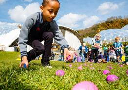 Easter at Eden 2017, What's on, Nr St Austell, Cornwall