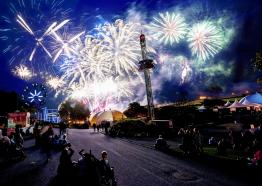 Flambards Halloween Tricks or Treat Firework Spectacular, October Event, Visit Cornwall