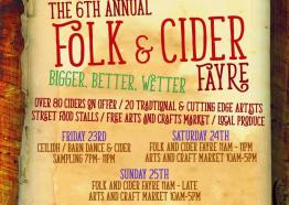 Falmouth Folk and Cider festival, Cornwall, event, what's on