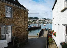 Polruan Quay looking across to Fowey c SWCP