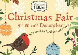 Heligan Christmas fair, Cornwall, Whats On 2017