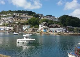 Looe near Trelay Holiday Park
