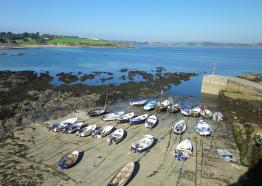Portscatho Harbour, The Roseland, Cornwall
