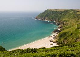 Lantic Bay, Polperro, Cornwall