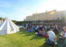 Pentille Castle & Estate, Outdoor Theatre, What's on Cornwall