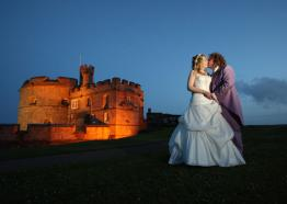 Unique castle wedding venue Cornwall | Pendennis Castle | Falmouth
