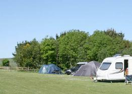 Penderleath Caravan and Camping Site, near St Ives, Cornwall