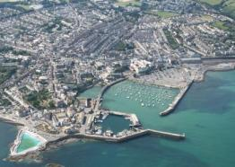 Aerial view of Penzance, Cornwall c John Such/Visit Cornwall