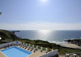 Polurrian Bay Hotel, Mullion, West Cornwall