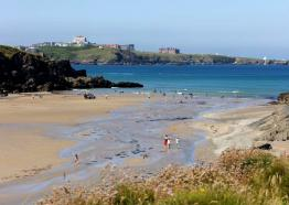 Porth Beach, Newquay, Beach's in Cornwall