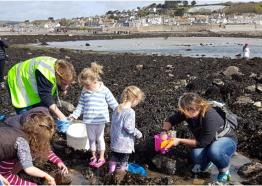 Rockpool Explorer, St Michael's Mount, Marazion, Cornwall, event, what's on, Easter