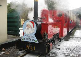 Lappa Valley Santa train, What's On Cornwall 2017
