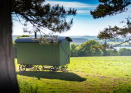Mt Edgcumbe Shepherds Huts, Cornwall
