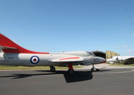 Cornwall Aviation Heritage Centre, Hawker Hunter T8, Mawgan Porth, Things to do, North Cornwall